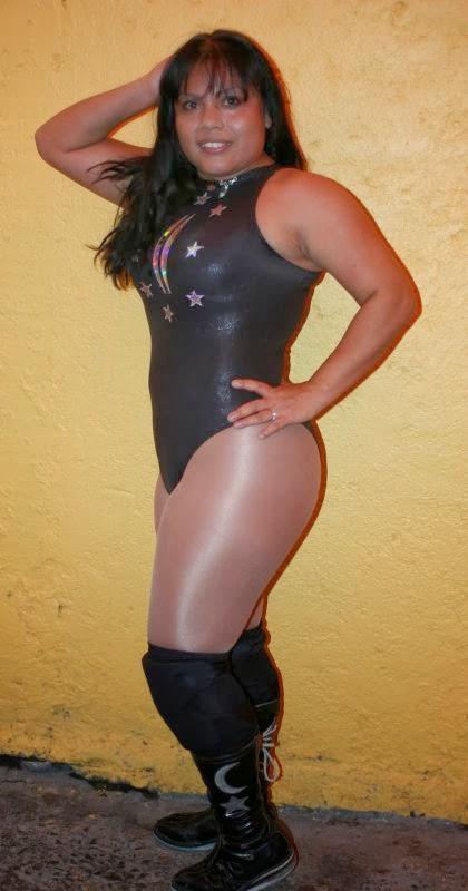 CMLL luchadora Luna Mágica (Maria De Los Angeles Aranda Ramirez)