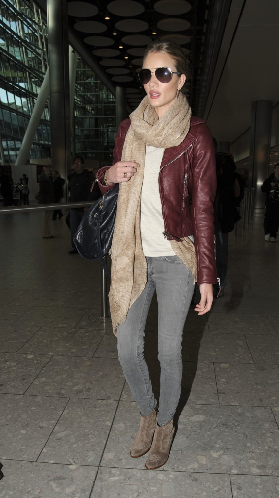 Rosie Huntington Loves Her Rag & Bone