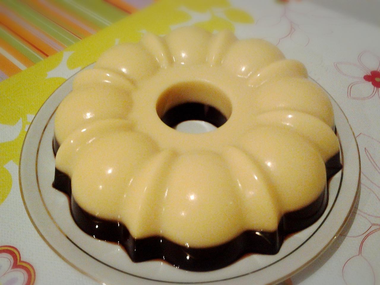 Cara Membuat Puding Mentega Coklat