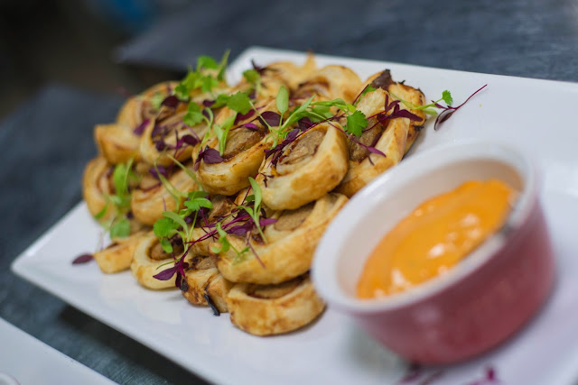 Underground Cookery School - Quorn Blogger Event Sausage Rolls
