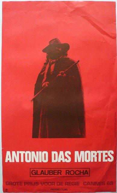 Affichons les affiches Antonio-das-Mortes_Glauber-Rocha_Poster