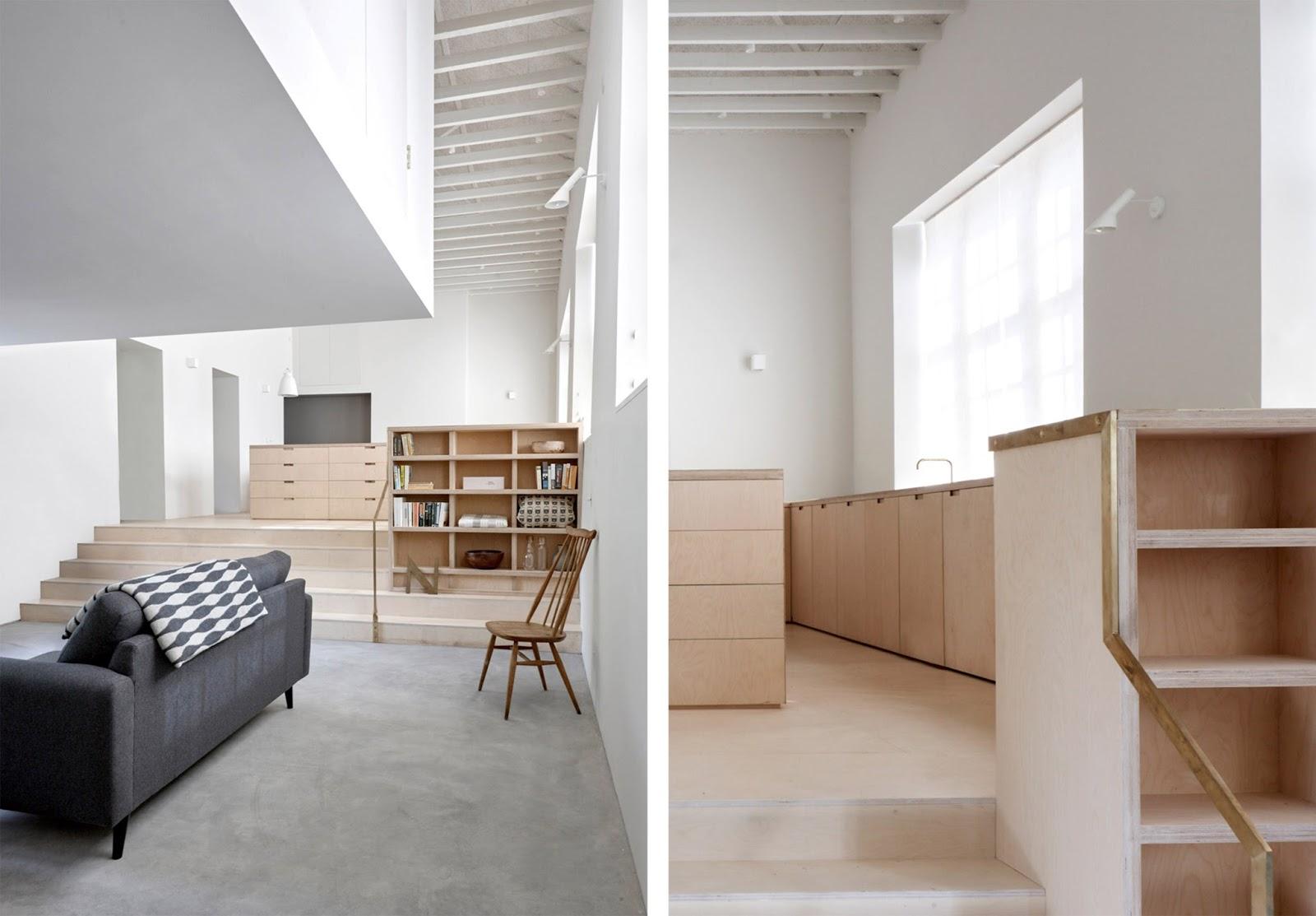 Loft con camera soppalco e cucina su misura by mclaren - Cucina con soppalco ...