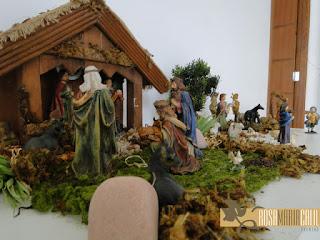 presépio, natal, decoração