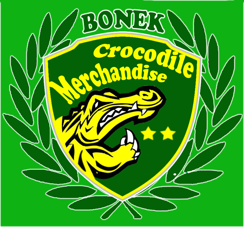 Bonek Blogger Surabaya (BBS): Bonek Crocodile Merchandise