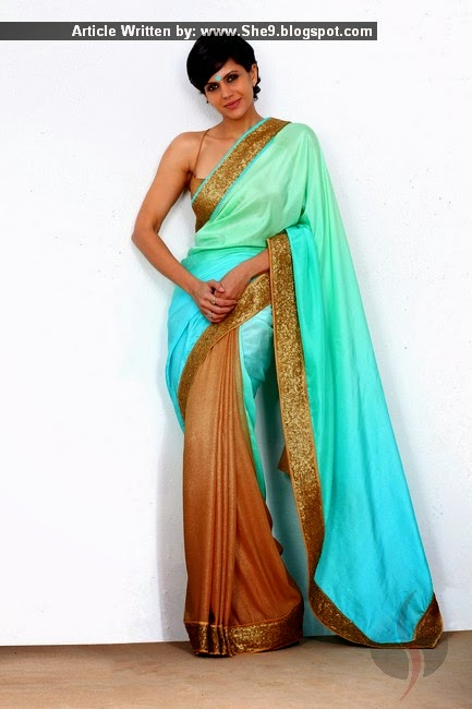 Indian Designer Mandira Bedi Formal Sarees