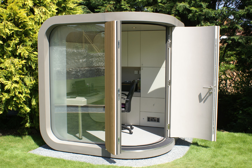 Pix grove cozy office pod - Bureau de travail maison ...