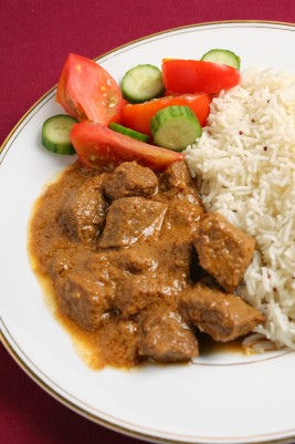 Crockpot Recipe for Massaman Beef Curry #beef #slowcooker #recipe #crockpot