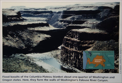 Palouse River Canyon - Smithsonian Museum.