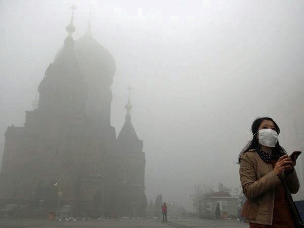 Luftverschmutzung in China in Bildern   Gerrys Blog