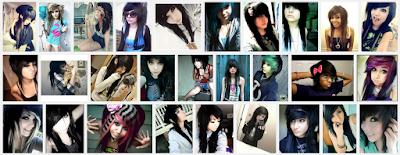model gaya rambut emo pendek dan panjang pria dan wanita 15