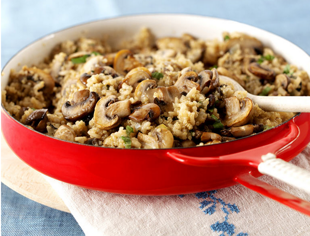 ... quinoa salad with roasted mushrooms photo credit mushrooms canada
