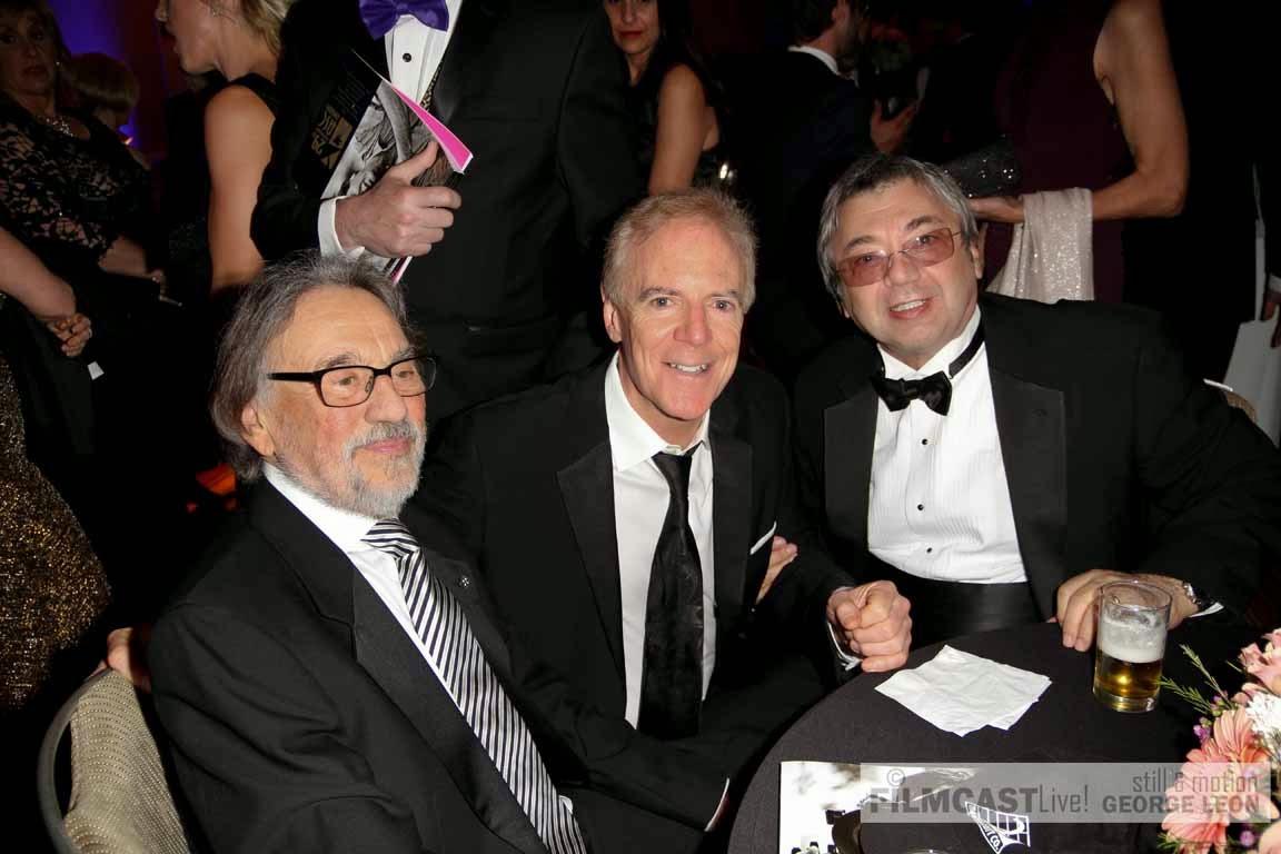 Vilmos Zsigmond ASC, Richard Crudo ASC President, Yuri Neyman,ASC  ©george leon/filmcastlive