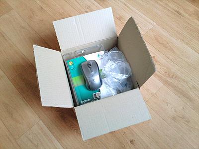 Een pakketje bestellen bij Coolblue