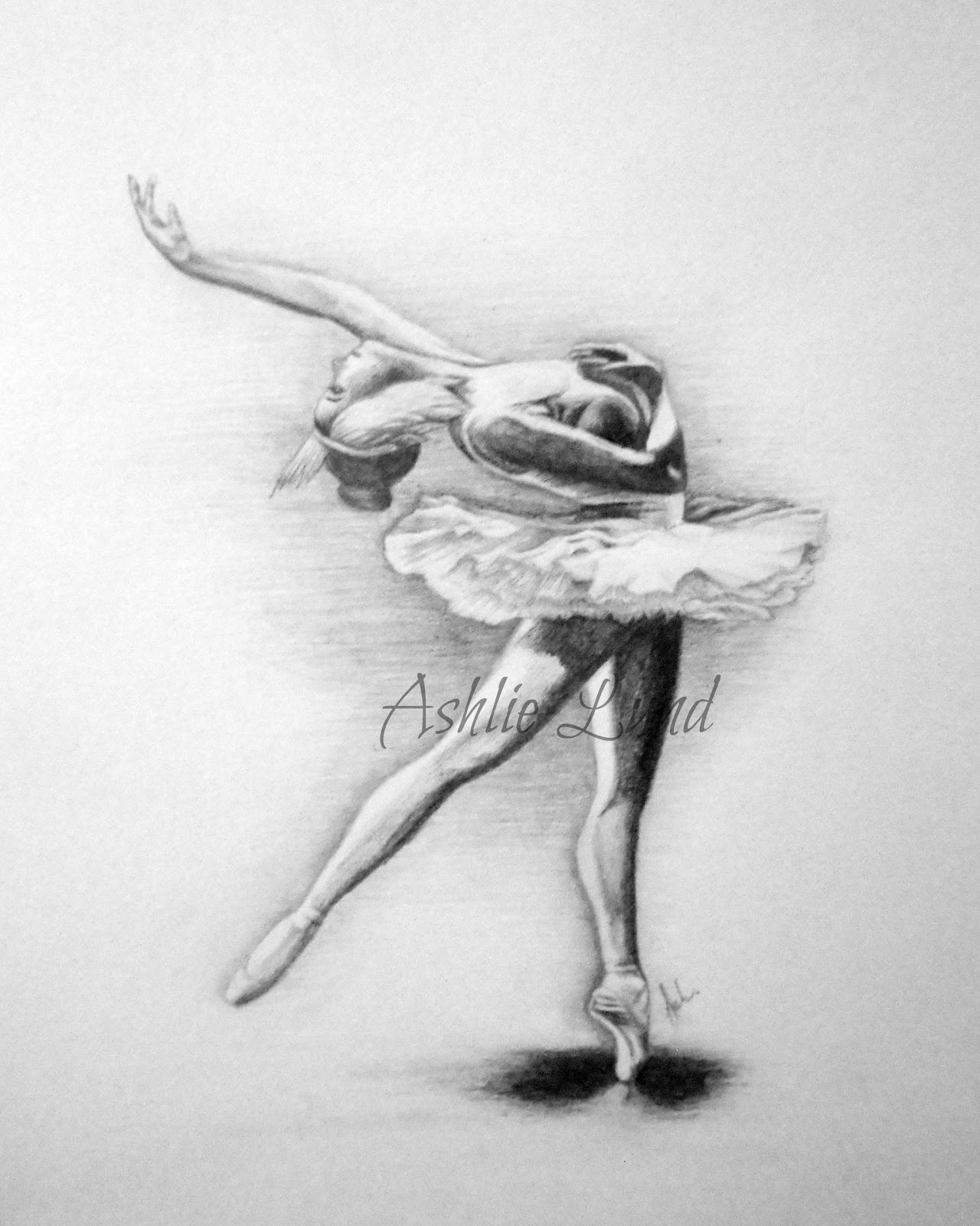 ballerina pencil drawing - photo #3