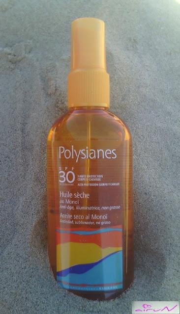 polysianes klorane protección solar