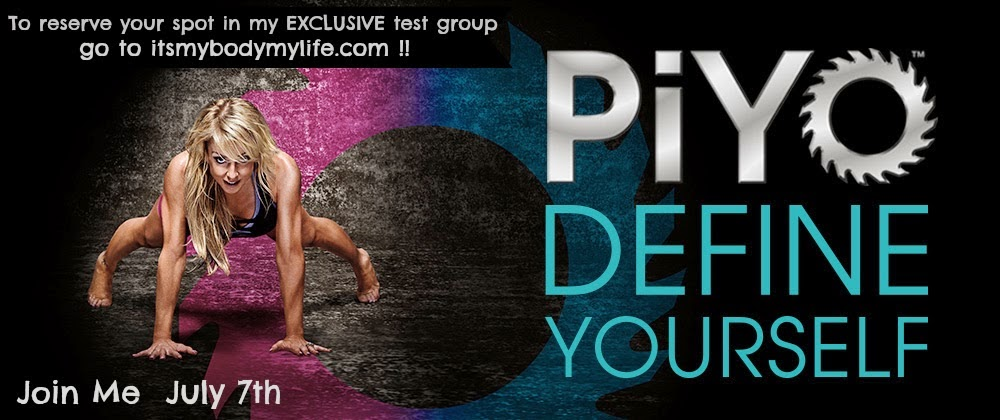 Piyo, Piyo test group, Piyo challenge group, yoga, pilates, chalene johnson,