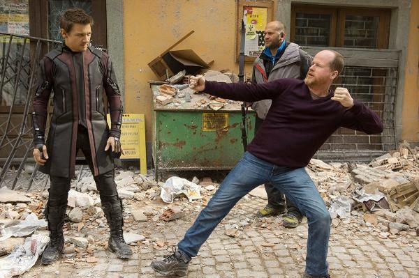 MOVIES: Avengers: Age of Ultron - BTS Photos of Hawkeye