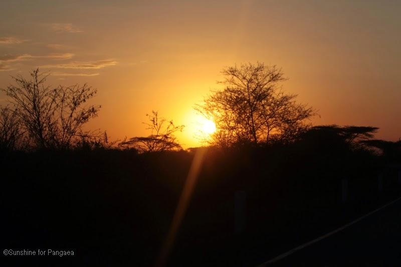 Sunset in Awash
