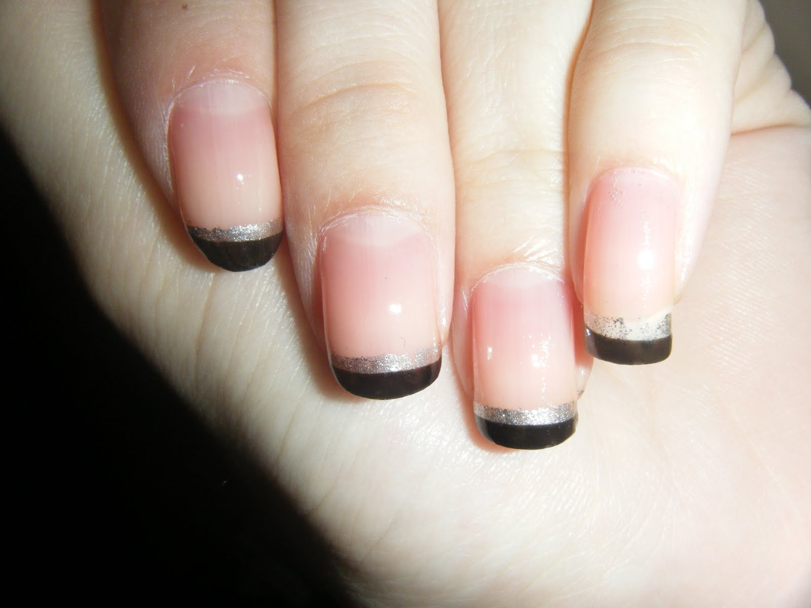 Image Sources Black French Manicure
