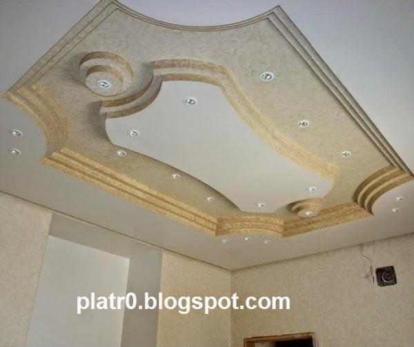 Platre plafond avec spot gascity for for Modele de faux plafond en platre algerie