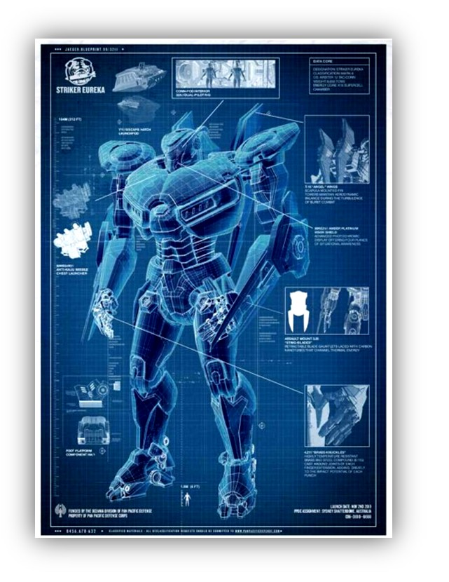 MarketSaw - 3D Movies, Gaming and Technology: Move Like ... Pacific Rim Blueprints
