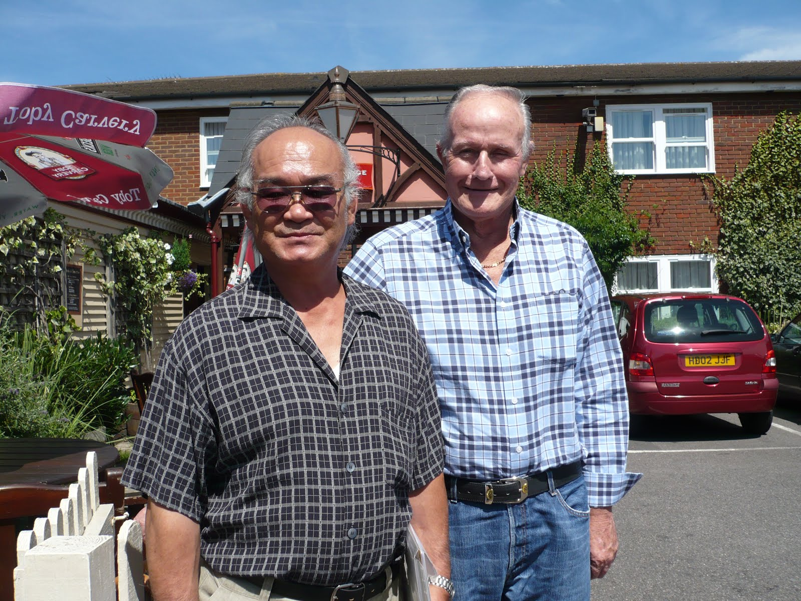 K Chiba Sensei and Henry Ellis 2012