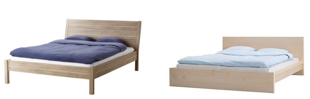 nyvoll bed frame nyvoll bed frame black brown black brown bedroom furniture beds mattresses. Black Bedroom Furniture Sets. Home Design Ideas