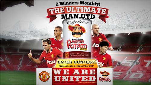 Mister Potato 'The Ultimate Man Utd Experience' Contest