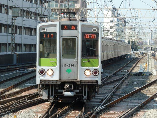 都営新宿線 各停 大島行き2 10-000形230F