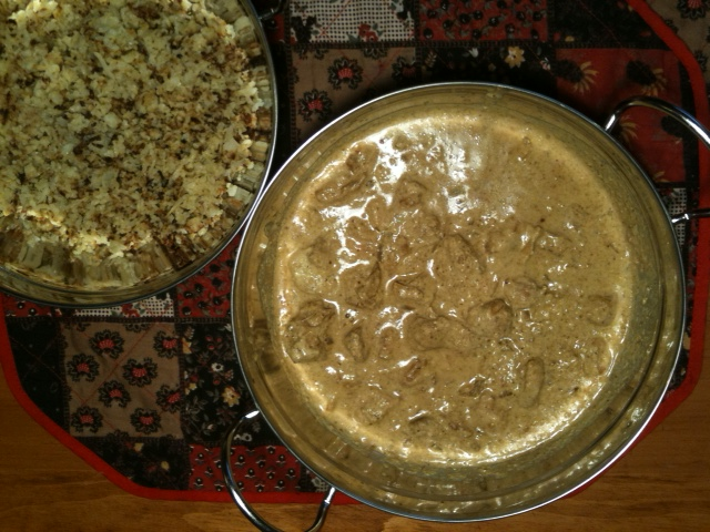 Pork Vindaloo and Cauliflower Rice