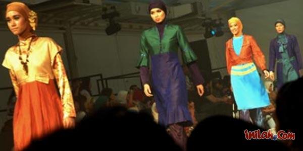Tren Aksesoris Hijab Sambut Idul Fitri