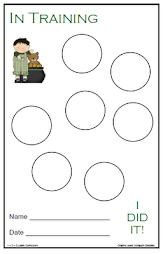 St. Patrick's Potty Training Form