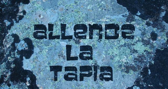 Allende la tapia