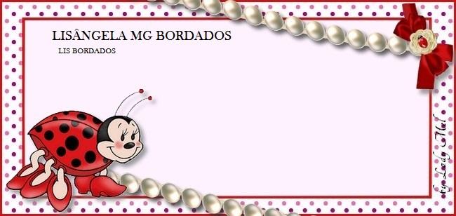 Lisângela M G  BORDADOS