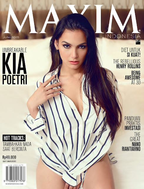 Actress @ Kia Poetri - Maxim Indonesia, June 2015