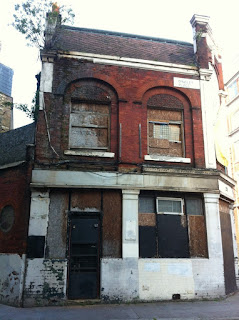 Abandoned pub, the Princess Alice, Dingley Road, London EC1