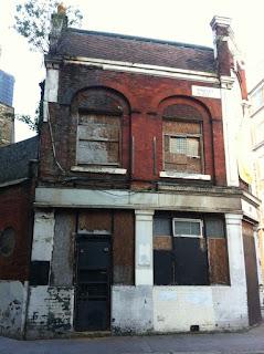 Abandoned pub, the Princess Alice, Dingley Road, London EC1