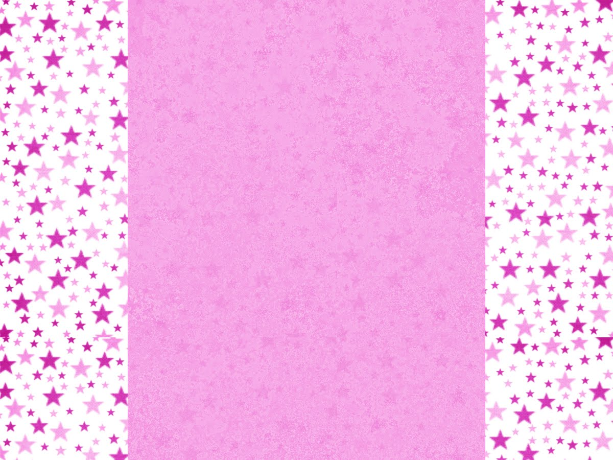 Fondo para Blog rosa detalles estrellas.