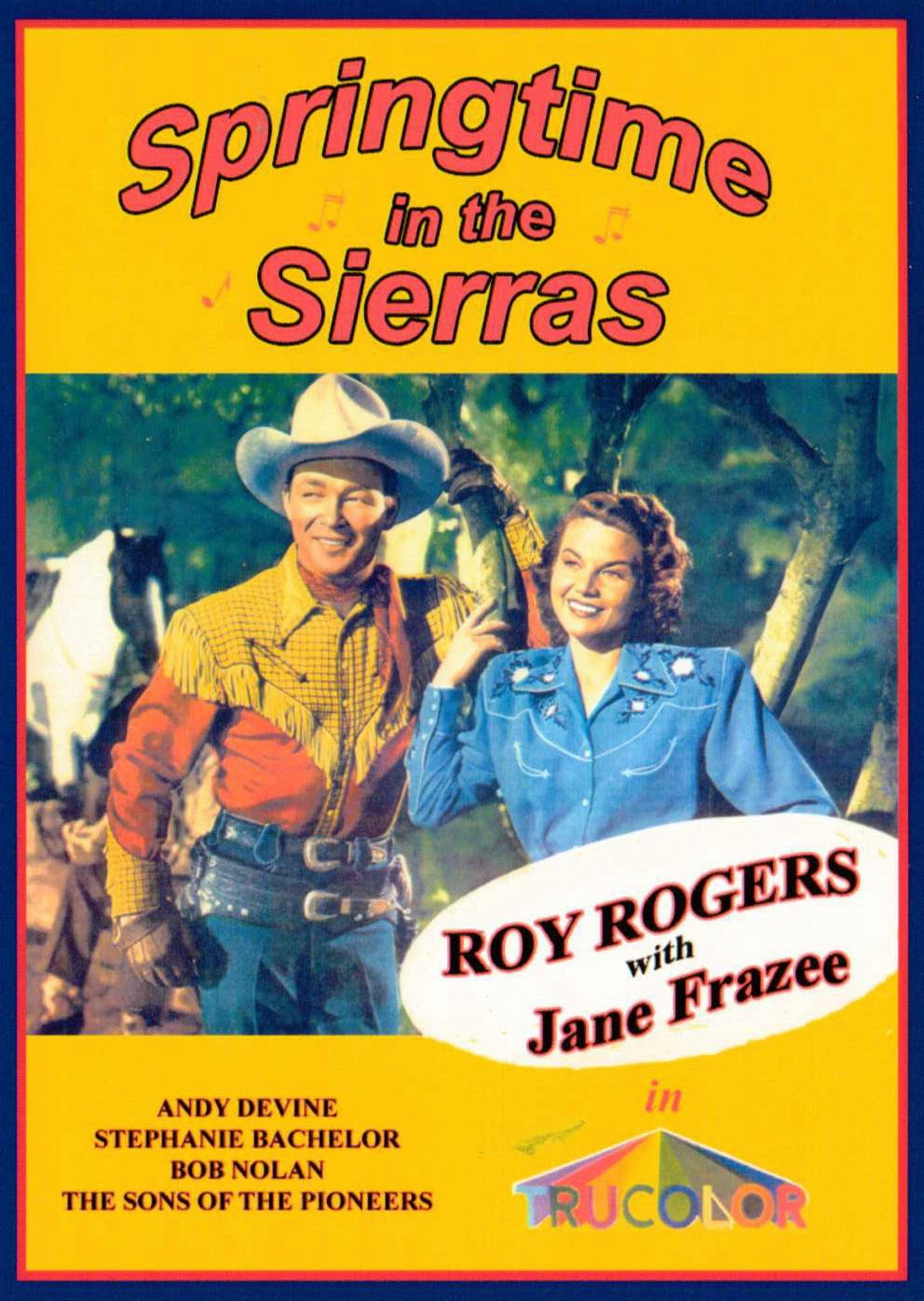 Roy Rogers in Springtime in the Sierras featuring Jane Frazee