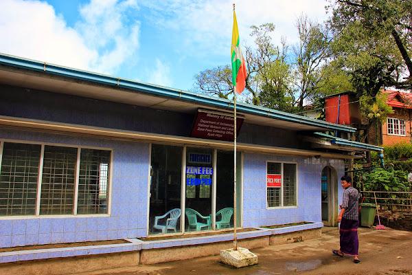 Taquilla de Kyaiktiyo golden rock - Myanmar