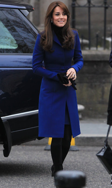 Kate Middleton and Prince William, Duke of Cambridge visits Dundee Rep Repertory Theatre as part of an away day to the Scottish City