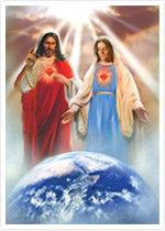 June has the Feasts of The Hearts of Jesus and Mary