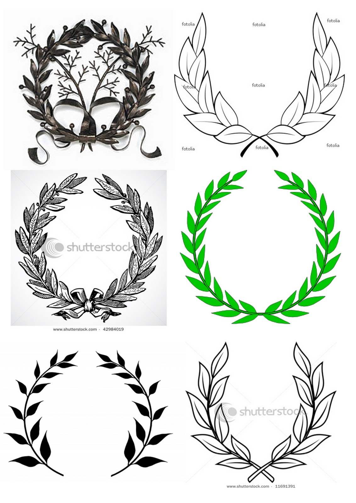 Design Context: Leeds College of Art Logo - Laurel Leaves