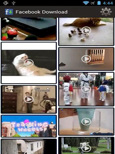 تنزيل تطبيق تحميل الفيديوهات من الفيس بوك Facebook Video Downloader للاندرويد