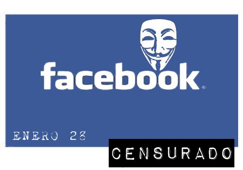Anonymous: Operacion Blackout, Facebook pudiera desaparecer el 28 de enero
