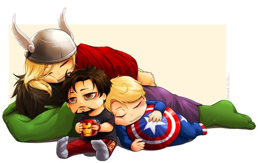 Avengers: Go the f*ck to sleep por Sekra