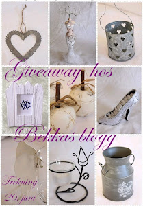 Give away hos Bekkas Blogg