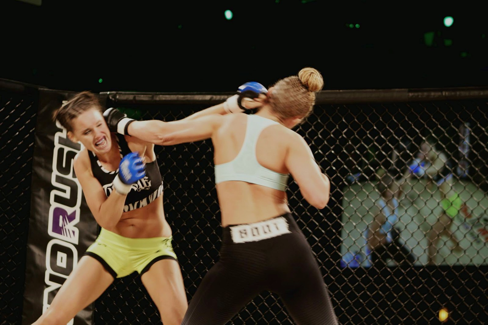 Iconici TV MMA interview with pro WMMA fighter Stevie VanAssche