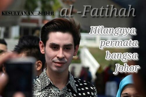 Mangkatnya Permata Johor Tunku Abdul Jalil