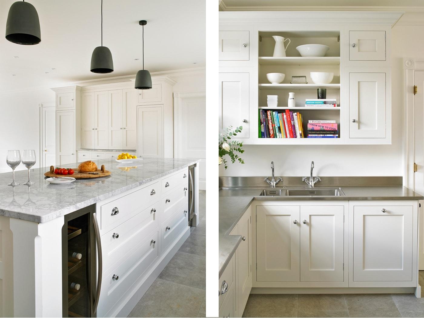 cocina blanca clasica brayerdesign 10 - Cocinas Clasicas Blancas